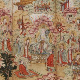 仏教絵画 中国・日本