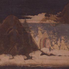仏画×風景