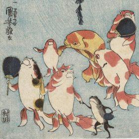 江戸の戯画-鳥羽絵から北斎・国芳・暁斎まで